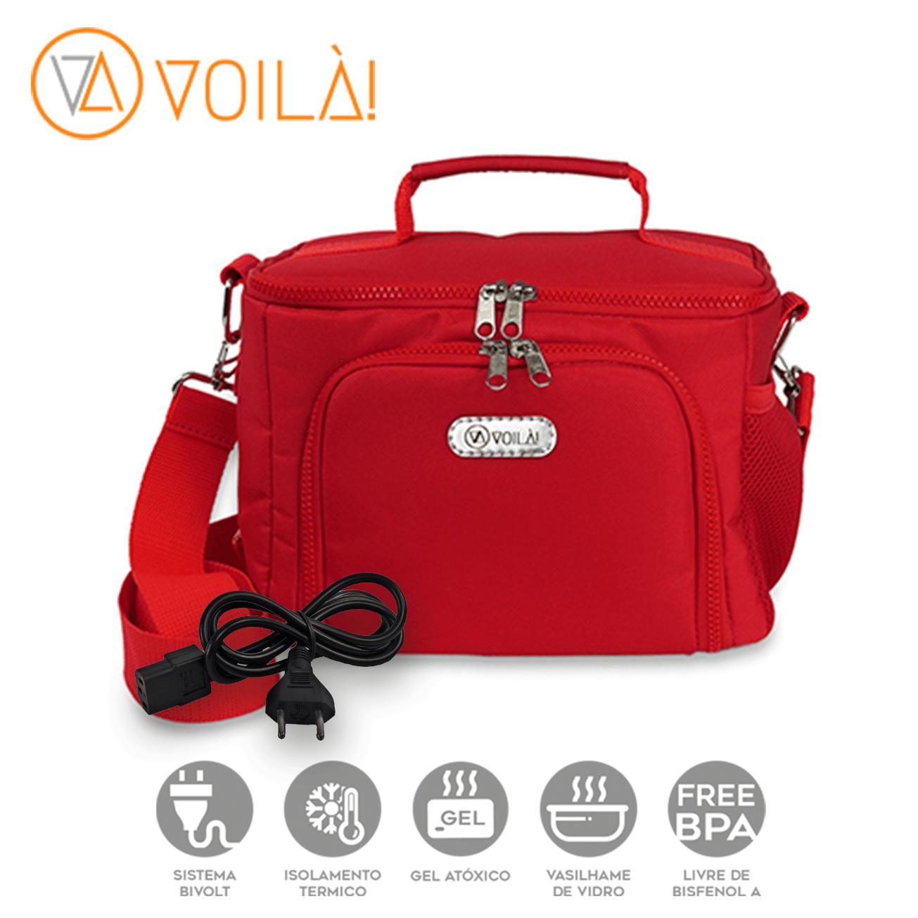 Bolsa Elétrica Voilà! Bag - Sport Vermelha
