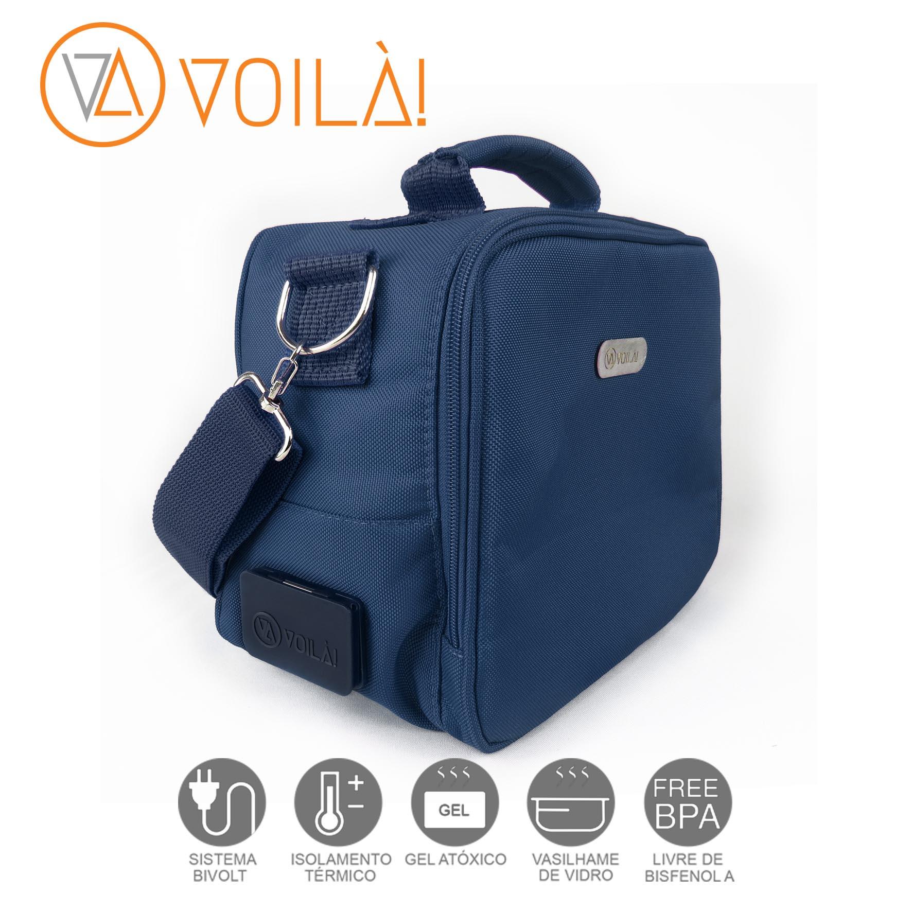 Bolsa Elétrica Voilà! Bag - Academy Azul