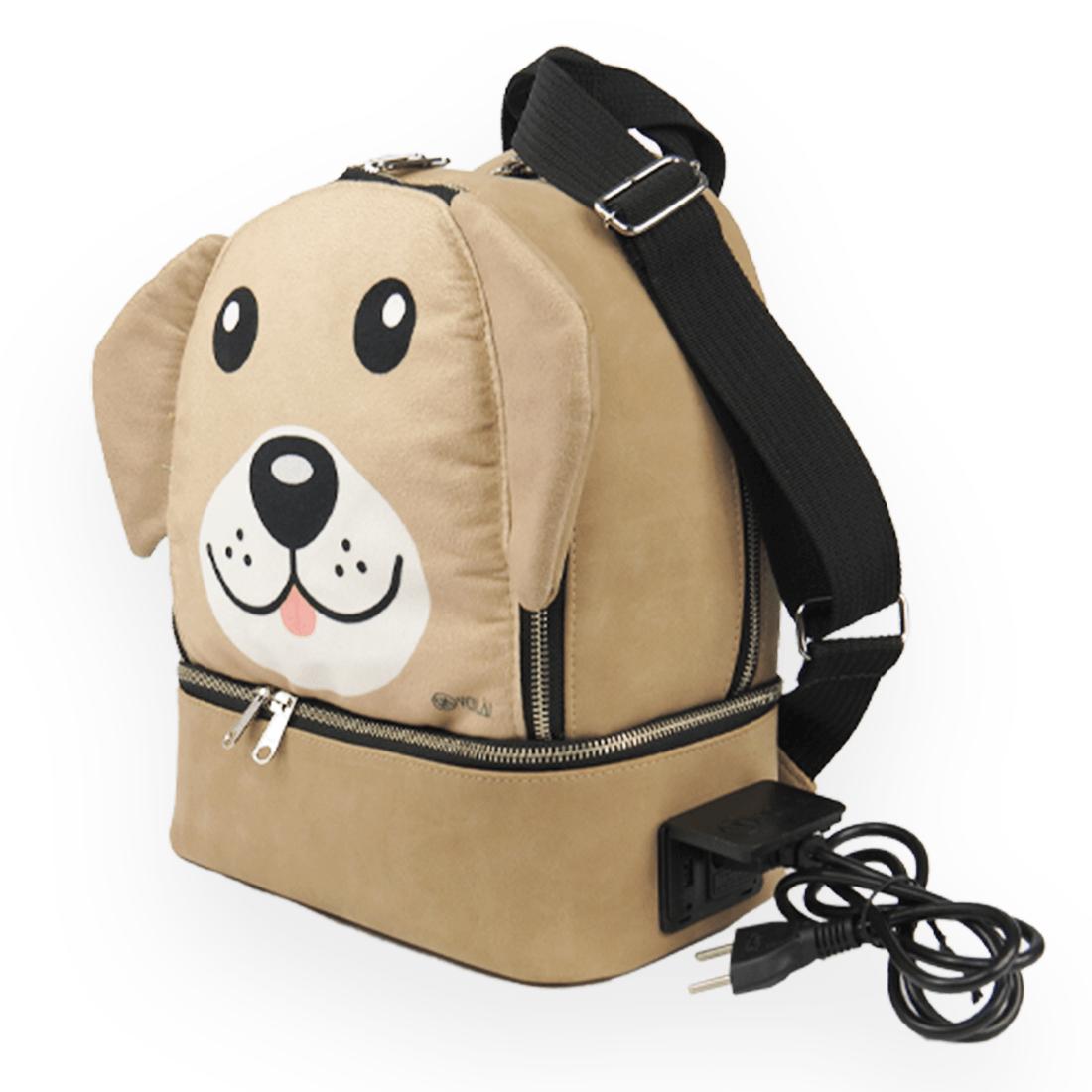 Mochila Elétrica Voilà! Bag Kids Baby - Zoo Dog