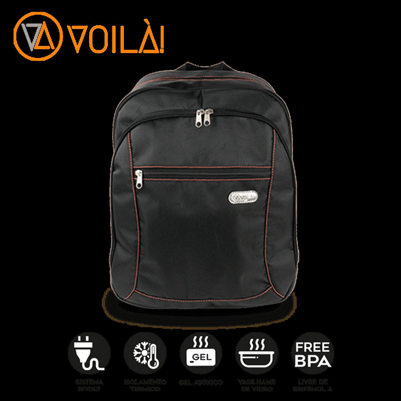 Mochila Elétrica Voilà! Bag - Urban Nylon e Couro Ecológico
