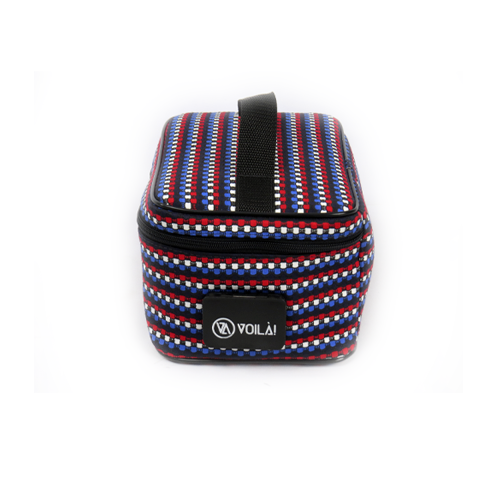 Necessarie Elétrica Voilà! Bag - Compacta Colors Red Blue