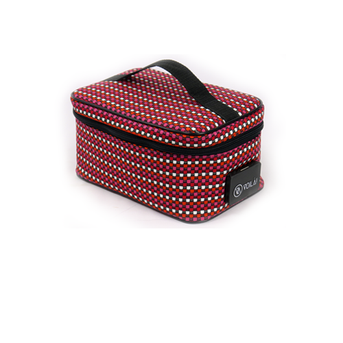 Necessarie Elétrica Voilà! Bag - Compacta Colors Red Pink