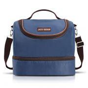 Bolsa Térmica Com 2 Compartimentos Azul