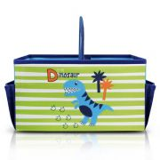 Caixa Organizadora Infantil Com Alça Azul