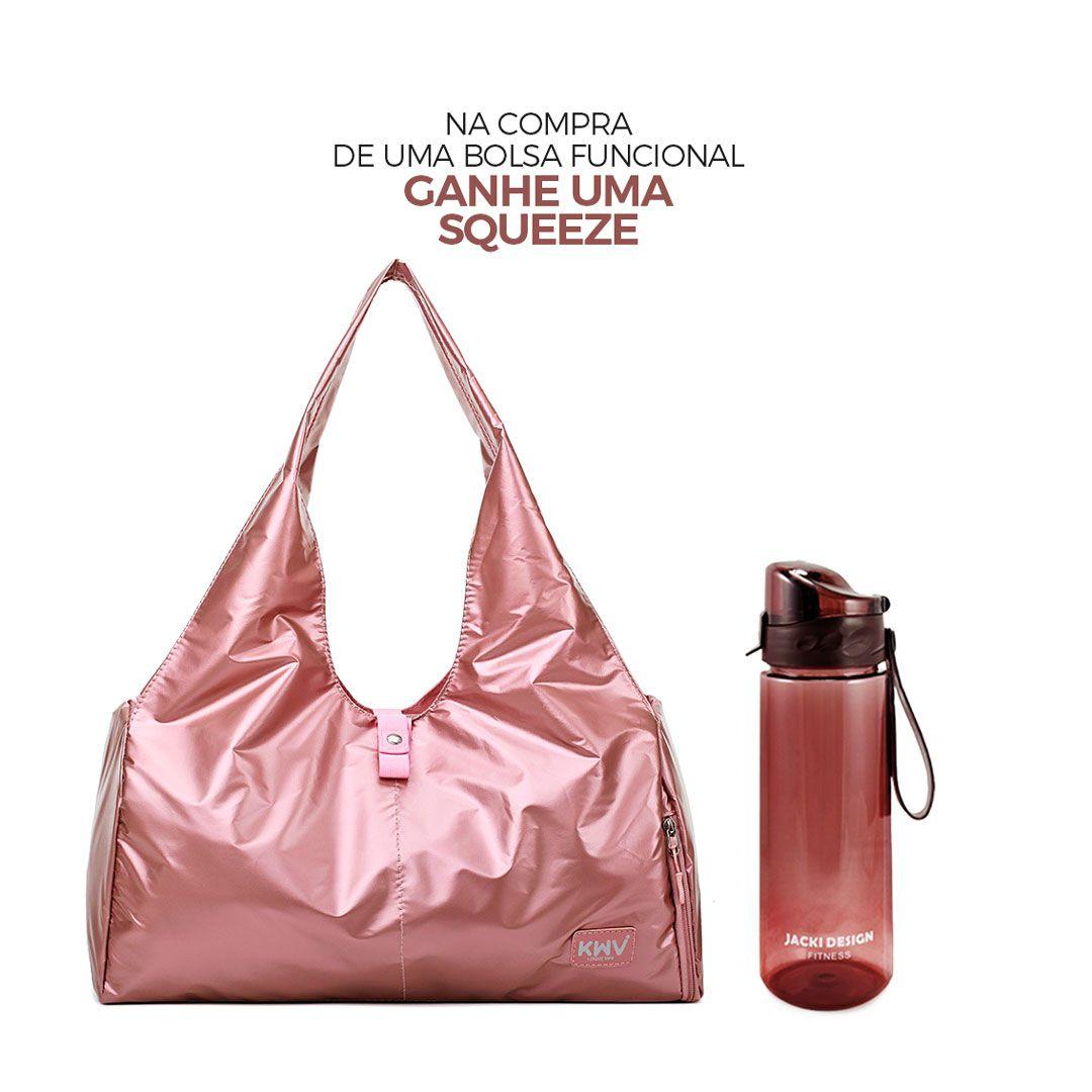Bolsa Casual Multifuncional Esportiva Rosa