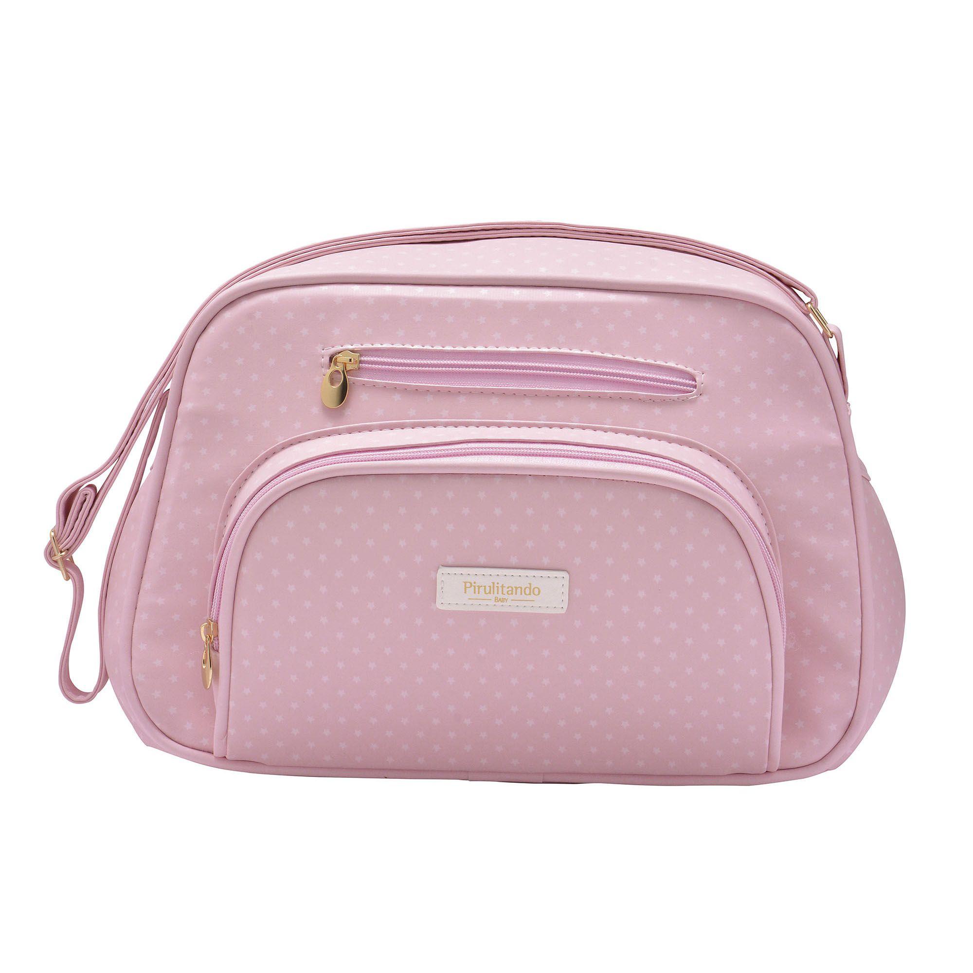 Bolsa Pequena Estrela Rosa