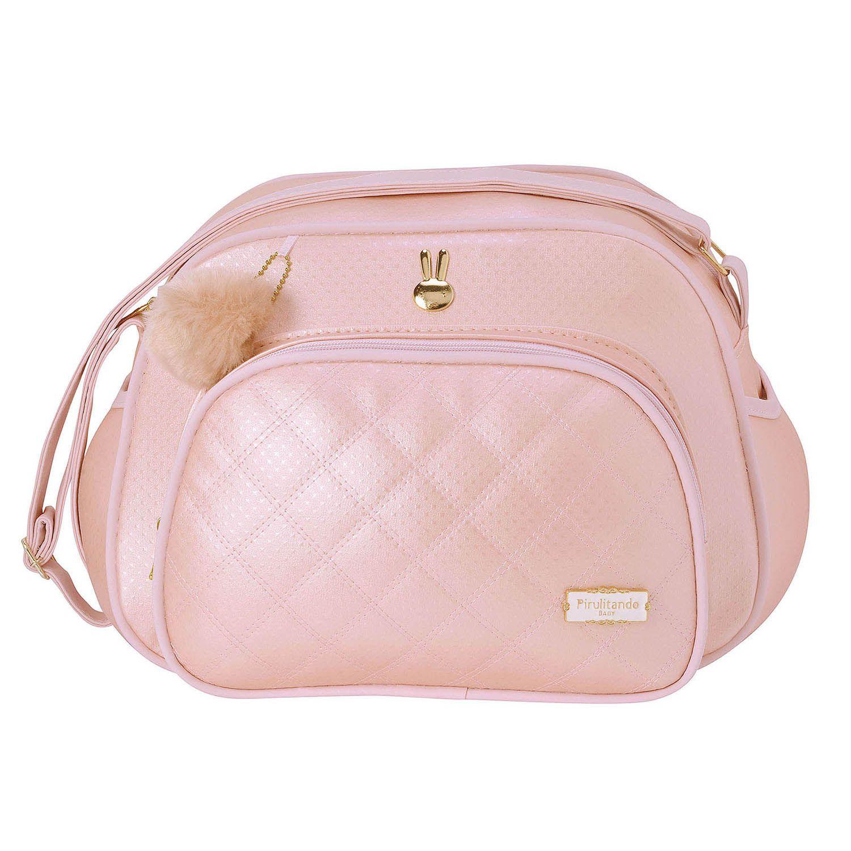 Bolsa Pequena Pilli Rosa