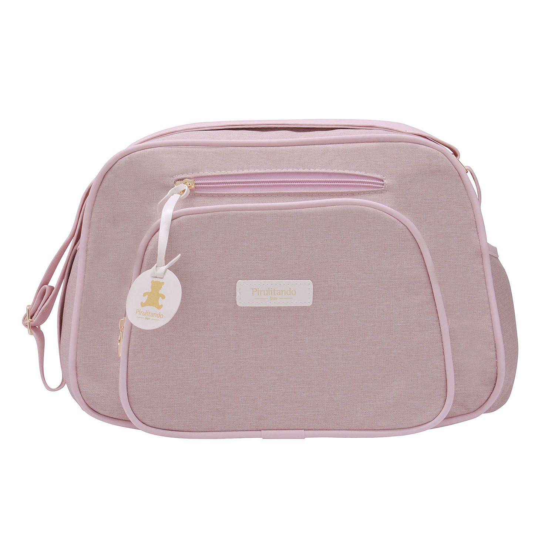 Bolsa Pequena Prática Rosa