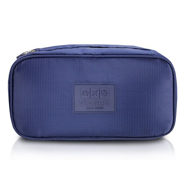 Bolsa Porta Lingerie Azul