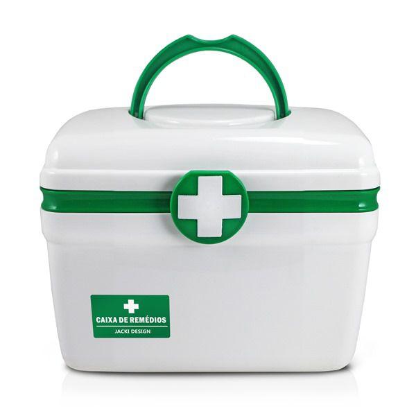 Caixa De Remédios Pequena Verde