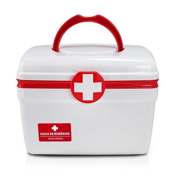 Caixa De Remédios Pequena Vermelho