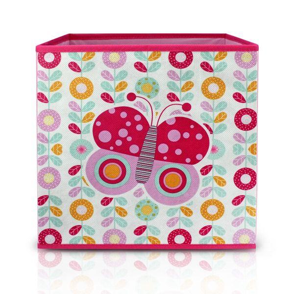 Caixa Organizadora Infantil Rosa