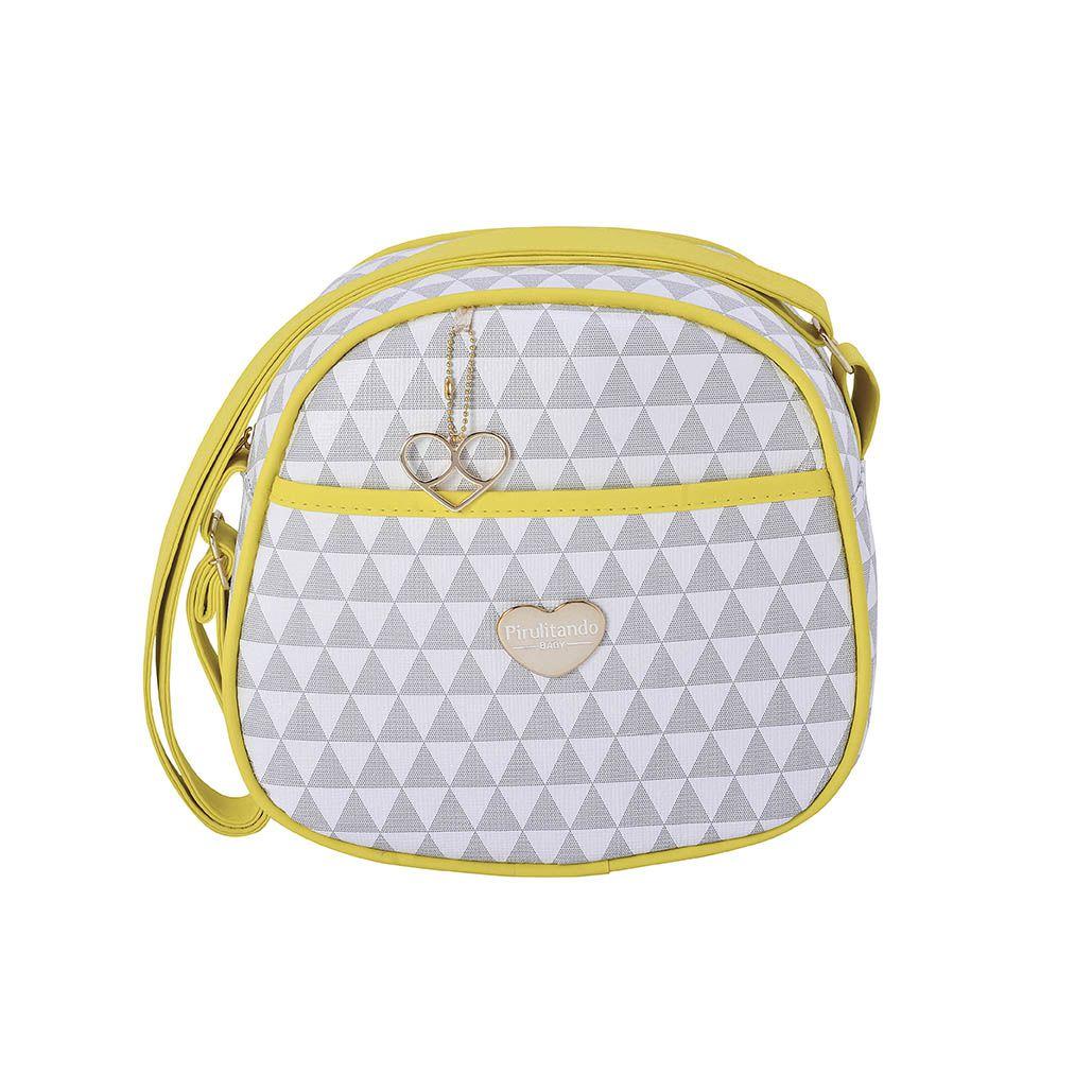 Frasqueira Térmica Triângulo Amarelo