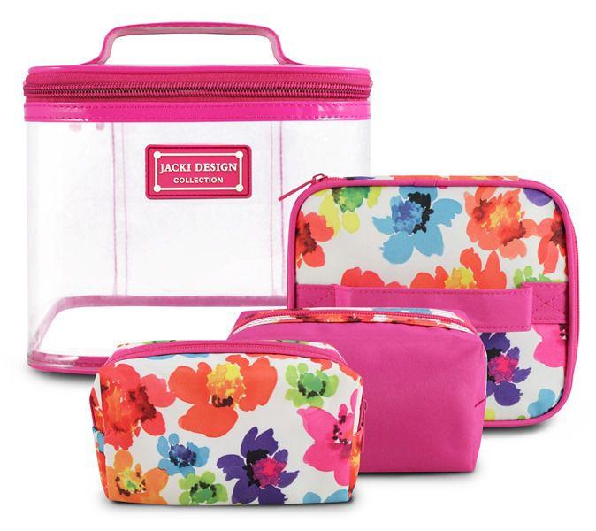 Kit De Necessaire De 4 Peças Pink