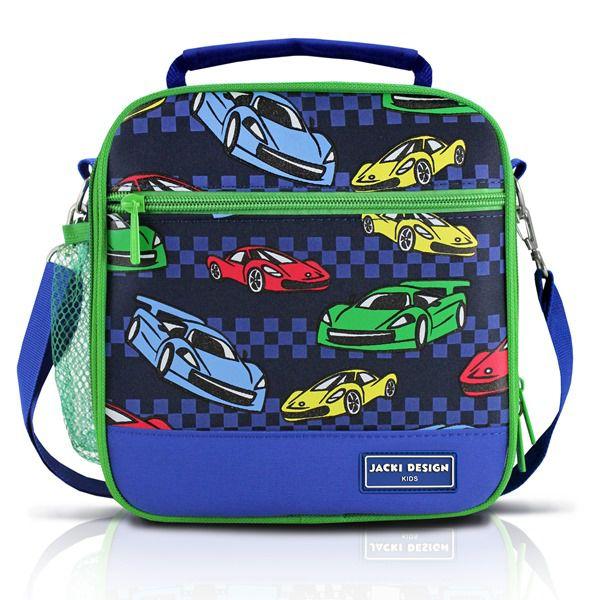 Lancheira Térmica Infantil Carro Azul