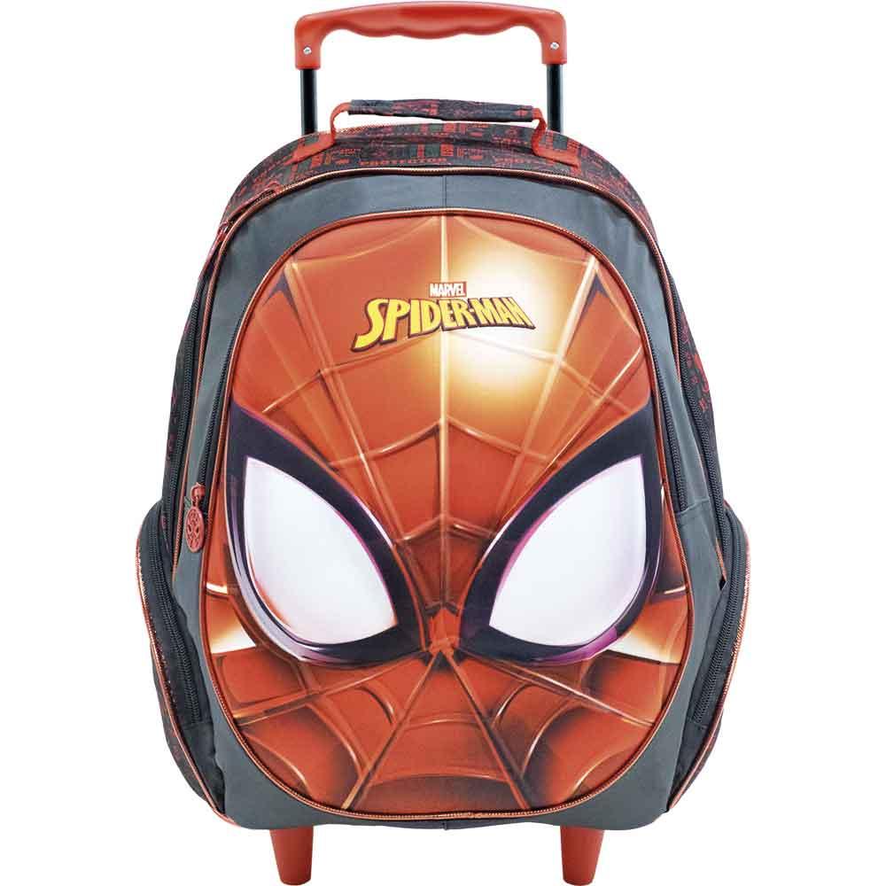 Mochila Com Rodinha Spider-Man Masked