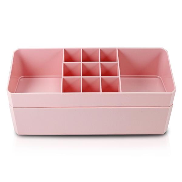 Organizador Multiuso de 2 Peças Rosa