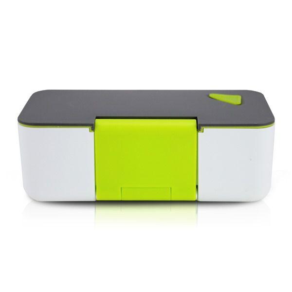 Pote Marmita Com Porta Celular 650Ml Verde