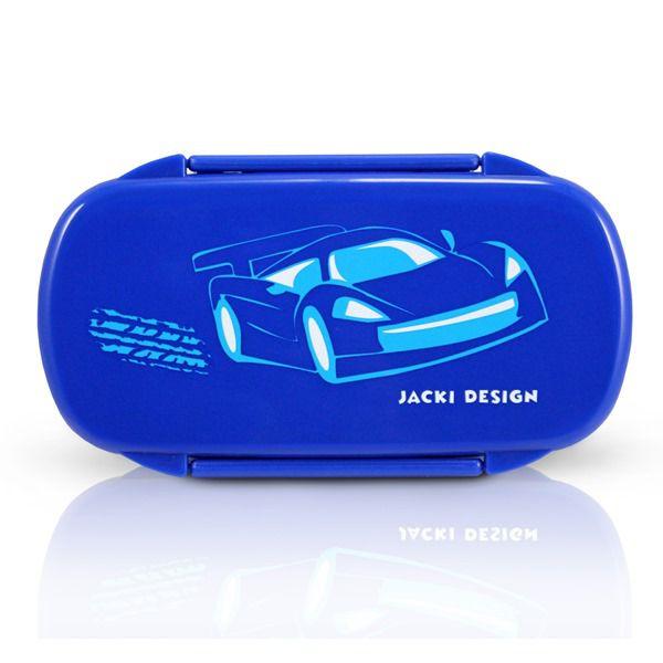 Pote Para Lanche Infantil Carro Azul Escuro