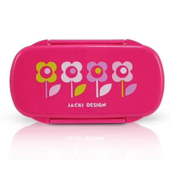 Pote Para Lanche Infantil Flor Pink Pink