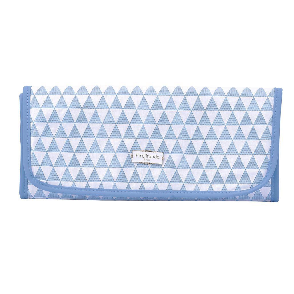 Trocador Lhama Piramide Azul