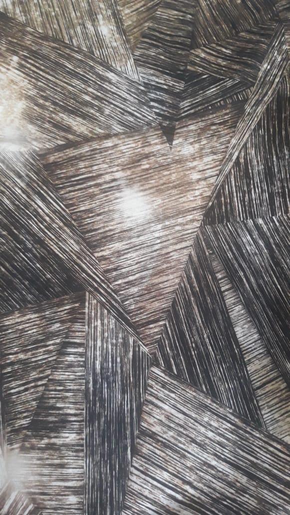 Conjunto Brown (Turbante Estampado com Proteção UV + Tiara de Argolas)