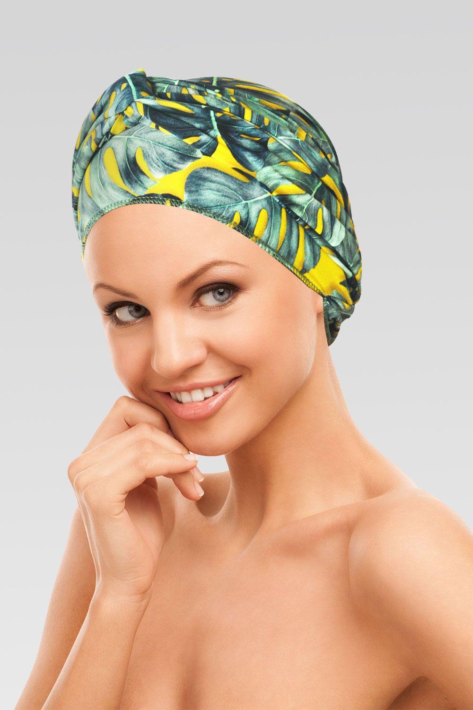 Conjunto Ornamento (Turbante Estampado com proteção UV+ Tiara de Argola )