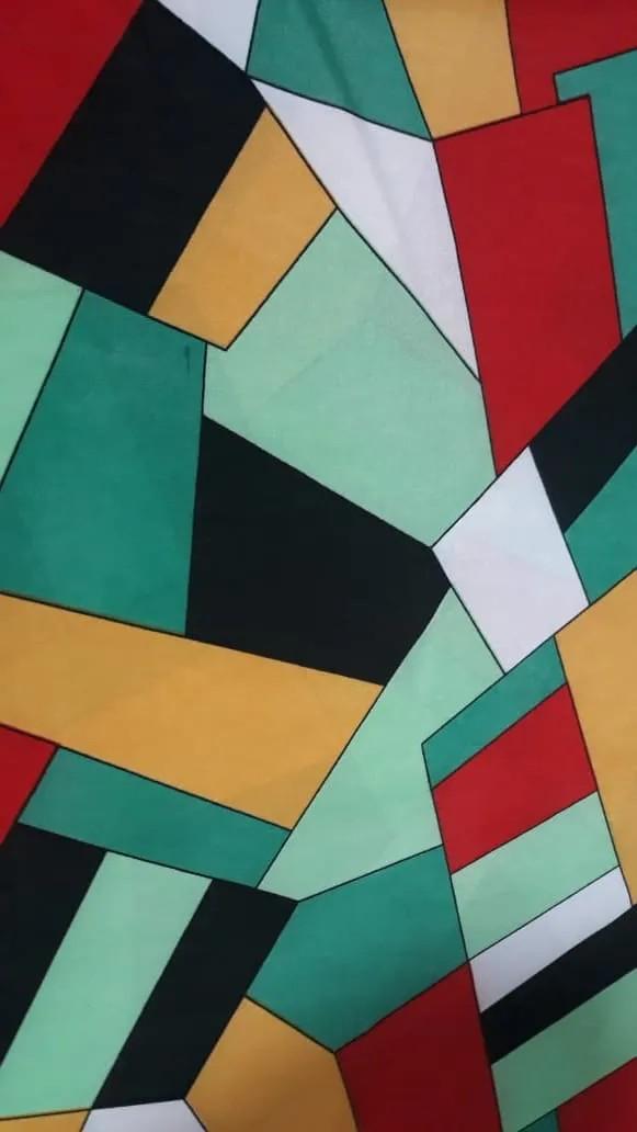 Conjunto Turbante Preto + Faixa Geométrica