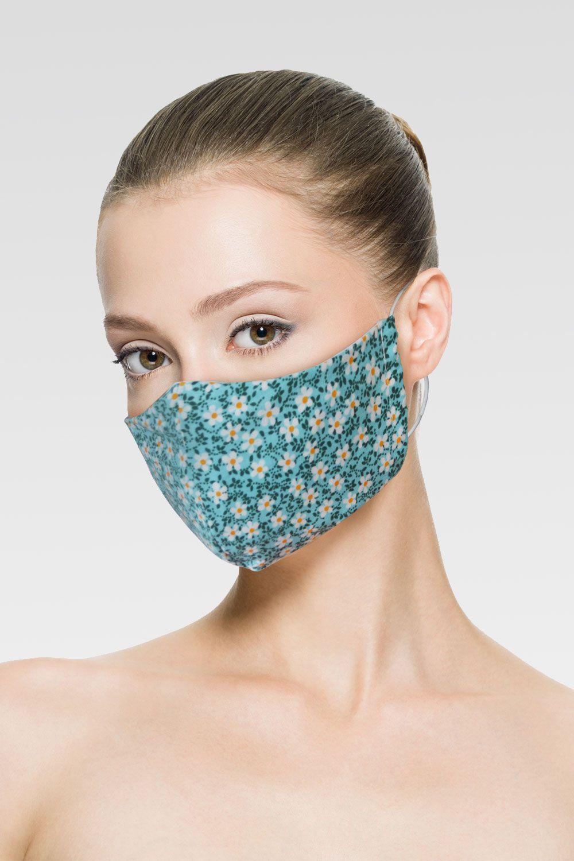 Mascara de Proteção para Imunidade - Azul Turquesa