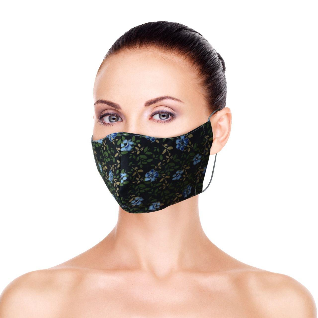 Mascara de Proteção para Imunidade - Preto