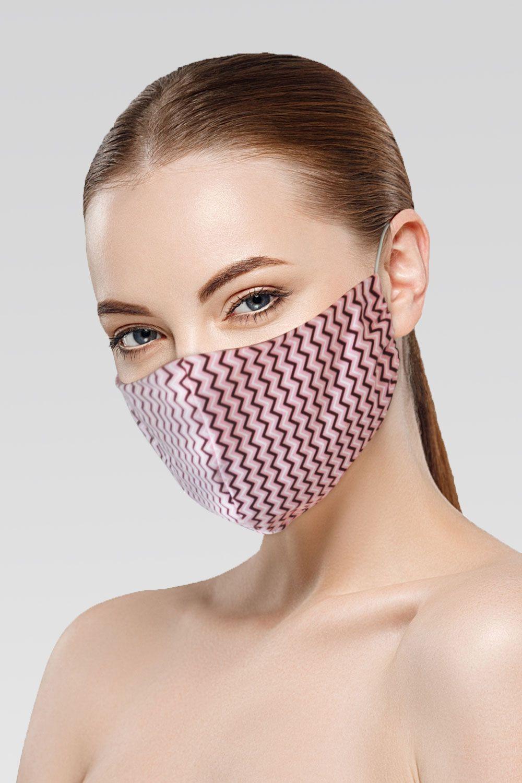 Mascara de Proteção para Imunidade - Rosa