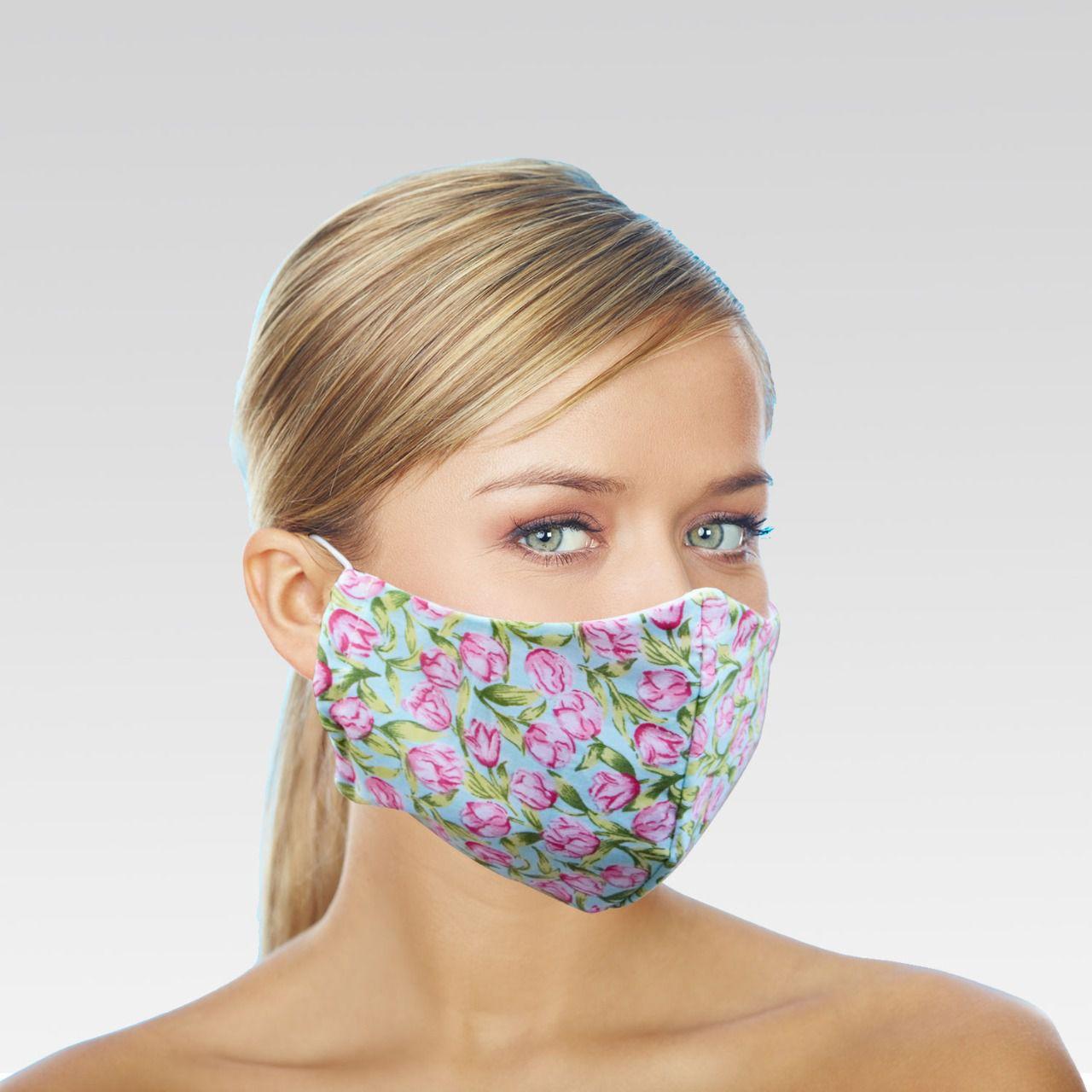 Máscara de Proteção para Imunidade - Verde Piscina