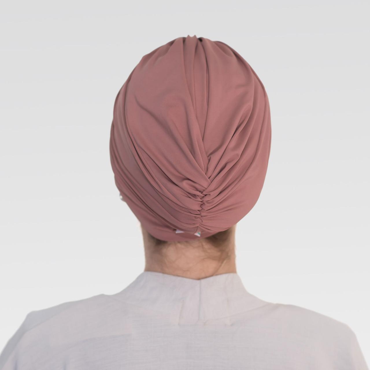 Touca Franzida na cor Desejada Com Proteção UV