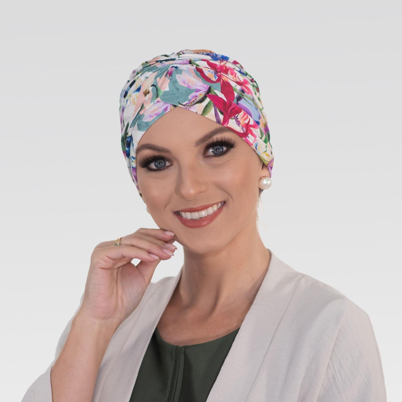Touca Franzida Moale com Proteção UV