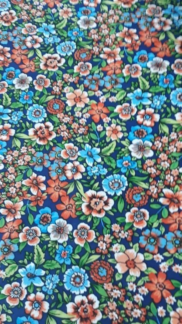 Turbante Pistache Escuro + Faixa Floral
