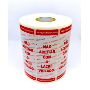Etiquetas Lacre de Segurança  para Delivery