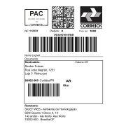 Etiquetas para correio mercado livre  100MM X 150MMM COUCHE caixa com  4 rolos