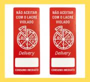 Etiquetas para pizzarias com  500