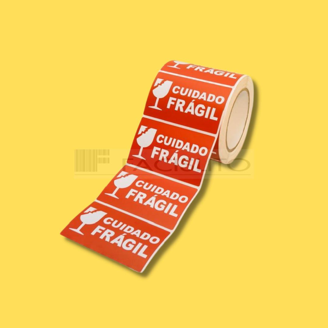 Etiqueta Adesiva Frágil