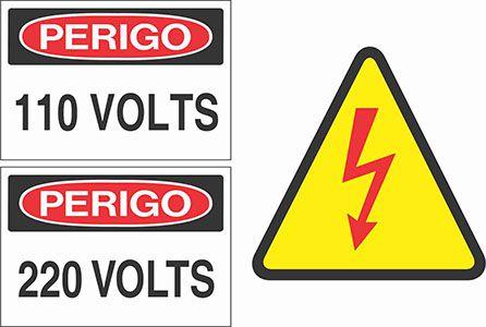 Etiqueta para sinalização e identificação
