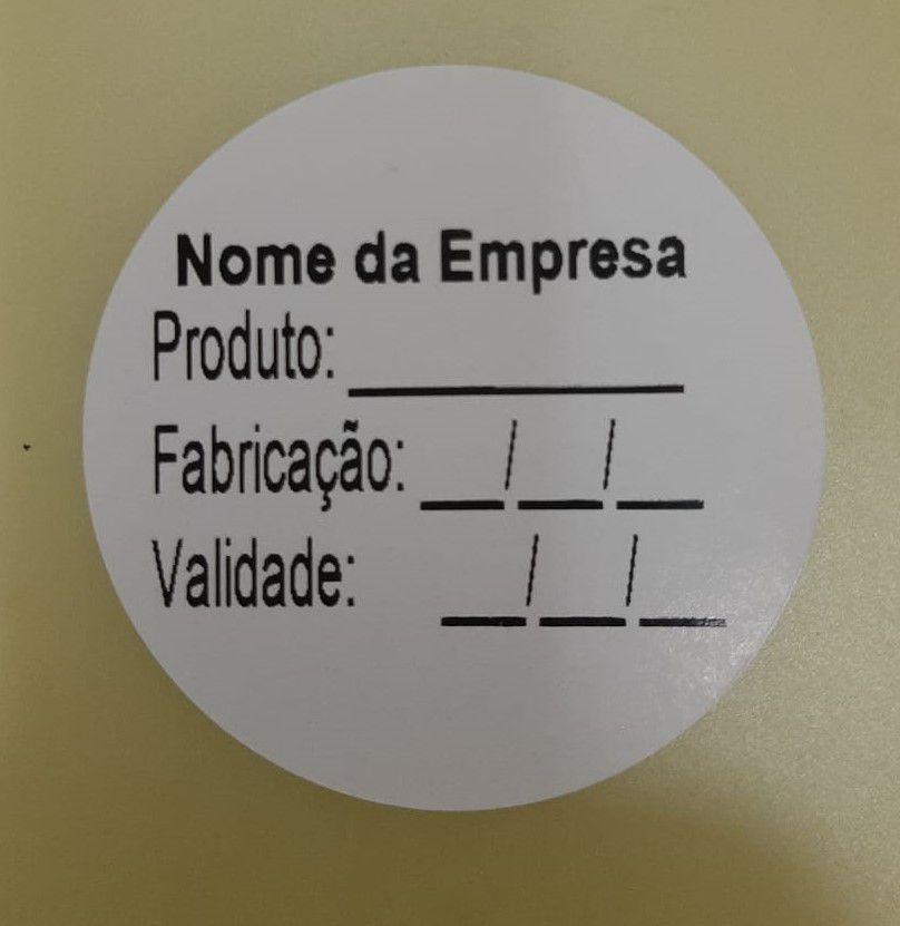 Etiqueta Validade bolinha c/ 500
