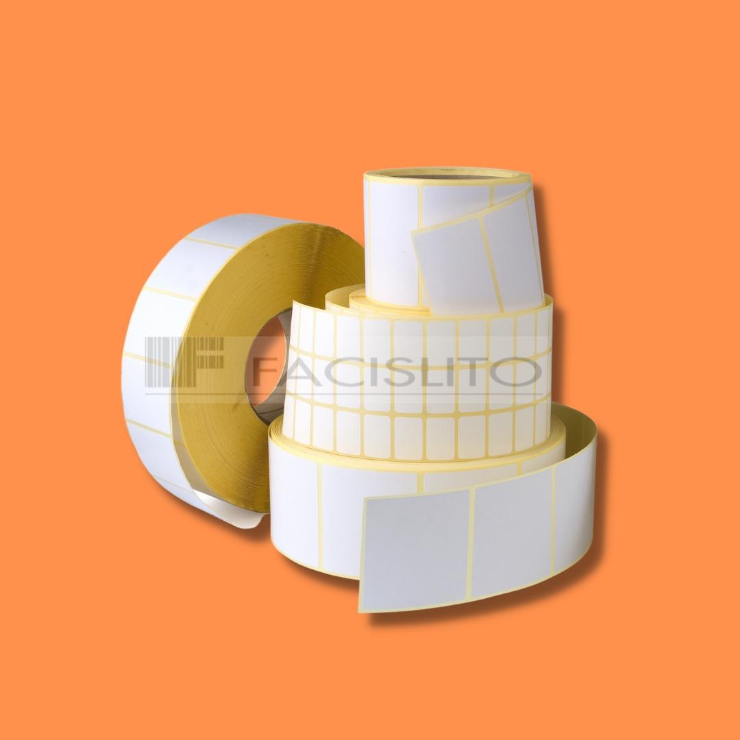 Etiquetas  100X50X1  C/ 566 etiquetas por rolo