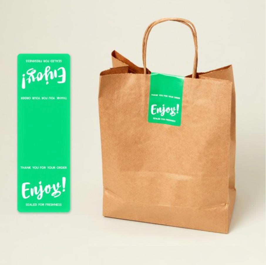 Etiquetas  para Delivery Personalizada