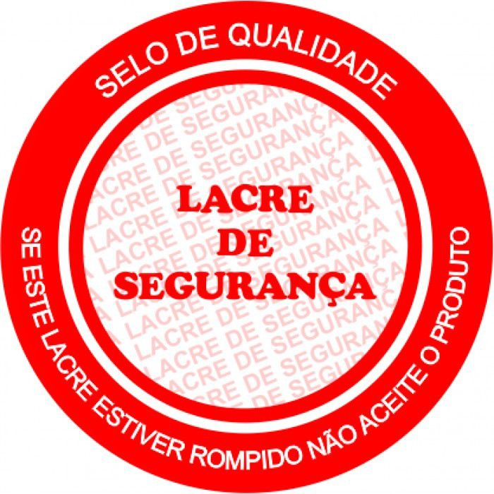LACRE DE SEGURANÇA REDONDO COM 1000 53 DIAMENTRO COUCHE
