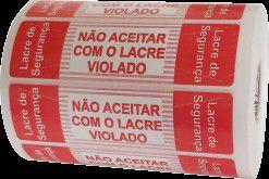 LACRE DELIVERY PADRÃO ROLO COM 1000 (PRONTA ENTREGA)