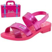 Sandália Grendene Barbie Maleta 22025 Rosa