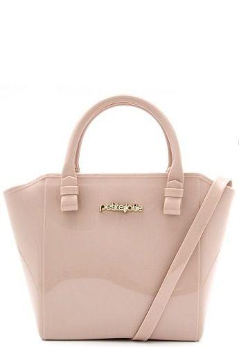 Bolsa Petite Jolie Verniz Shape Bag PJ3939