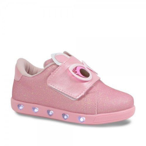 Tênis Infantil Pampili Luz Dot's Sneaker 165.073 Cm Chaveiro