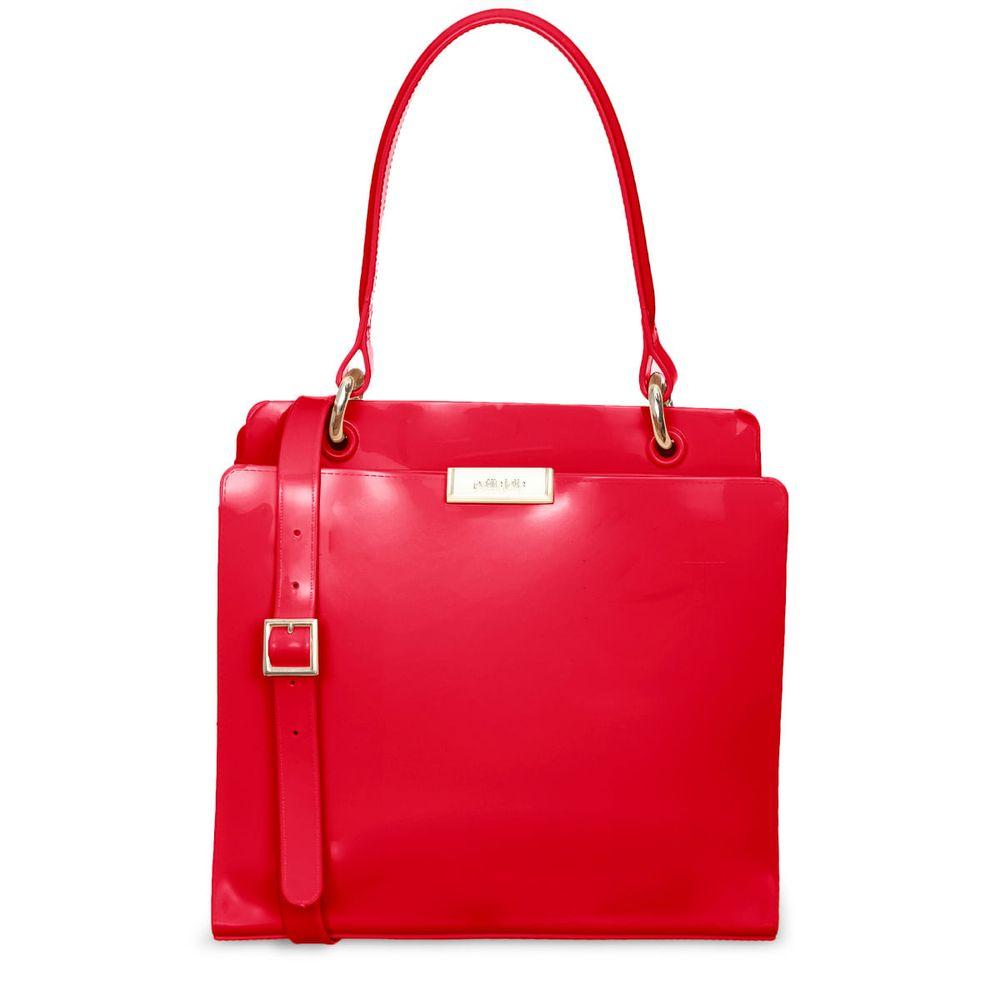 Bolsa Petite Jolie Leave Vermelho PJ10045