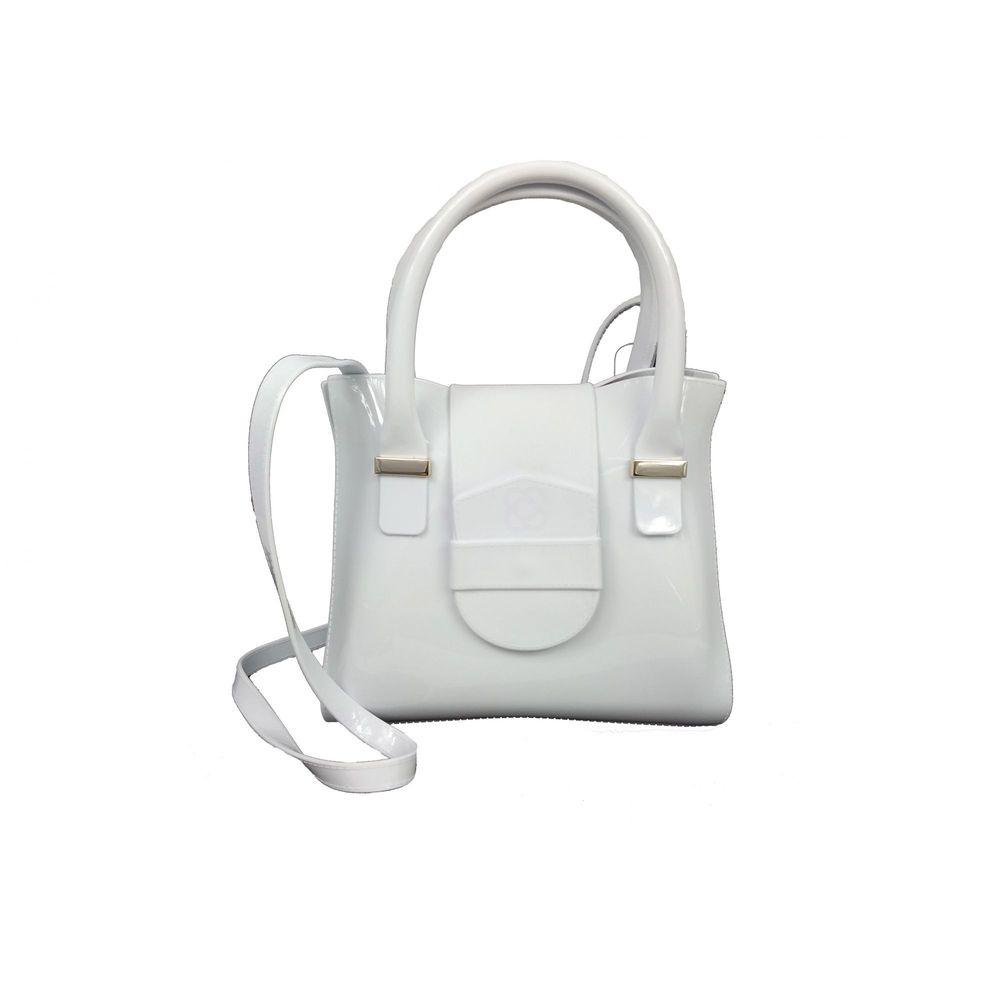 Bolsa Petite Jolie Love  PJ4452 Branco/ Preto
